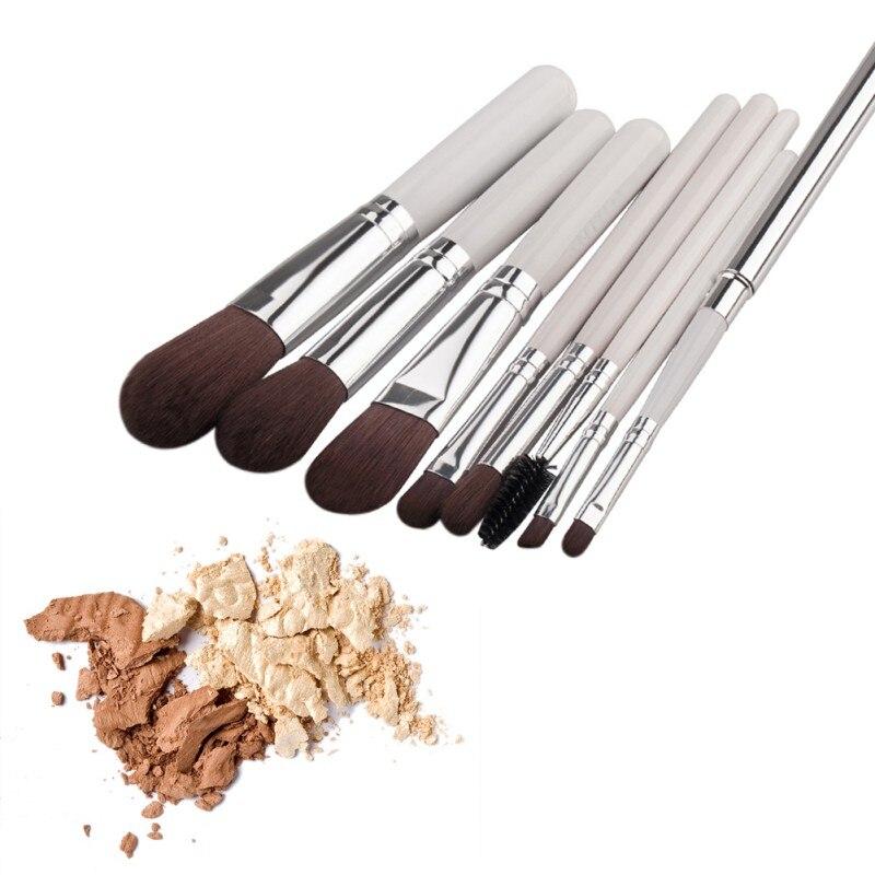 8pcs/set Chic Beauty Makeup Cosmetic Brush Blusher Eye Shadow Eyelash Concealer Brushes Tools Set Kit six black eye makeup brush brush eye shadow brush black beauty makeup tools