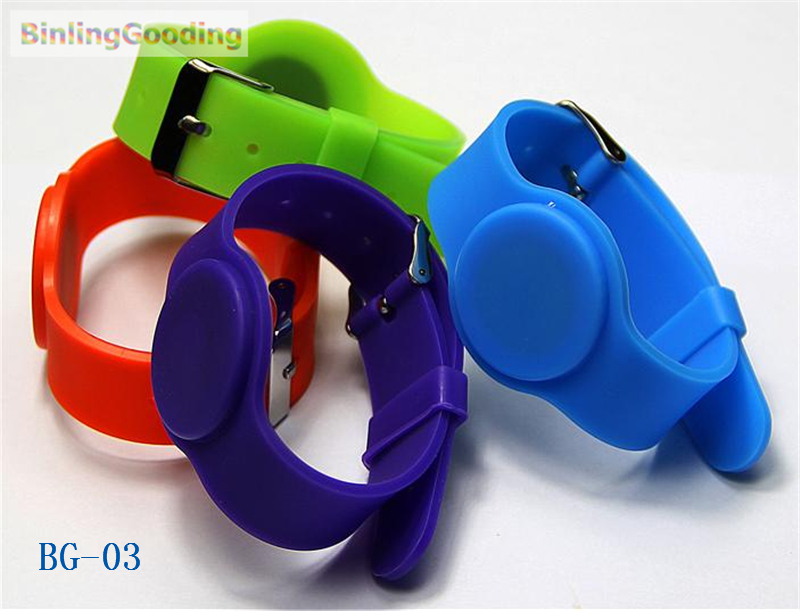 Bg-03 100pcs/lot 125khz Em4100 Tk4100 Rfid Wristband Bracelet Read Only Id Card For Swimming Pool Sauna Room Gym Access Control