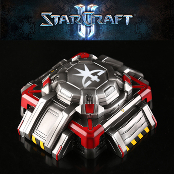 Starcraft Terran Bunker Model Ashtray With Lids Storge Box Gift Resin Ashtrays
