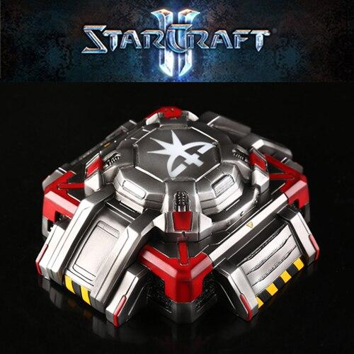 Starcraft Terran Bunker Model Ashtray With Lids Storge Box Gift Resin Ashtrays