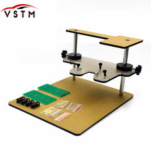 Mais novo bdm quadro teste para bdm100 fgtech chip tunning com bdm quadro adaptador ktag K-TAG mestre cmd ecu ferramenta de programação