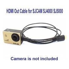 1.5 м Micro HDMI/HDMI OUT Кабель для SJCAM SJ4000 SJ4000 WI-FI sj5000 M10 WI-FI sj7 Star sj6 Легенда действие Камера видеокамер Спорт