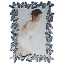 The Butterfl Border Metal Photo Frame Decorative Picture Frame Fashionable Household Decor(China)