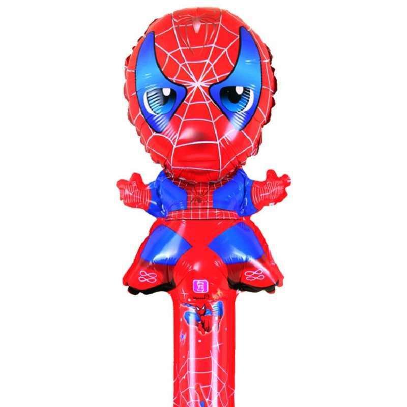 20 sztuk Spider-Man balon ręka doping kij balon kreskówka folia 80*25cm balony na imprezę urodzinową Spider-Man tankowanie Bar