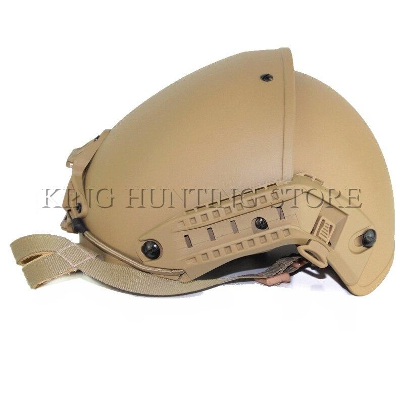 Высокое качество открытый AirFrame Стиль Шлем Страйкбол Пейнтбол защитный ABS легкий с крепление для ПНВ тактический военный шлем