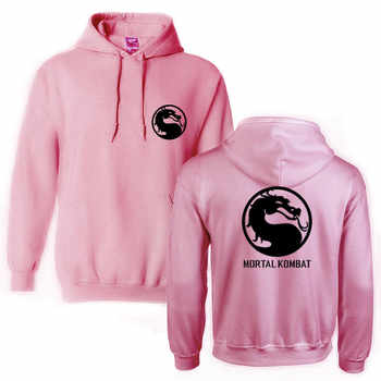 Mortal Kombat Dragon Fashion Brand Print Sportswear Hoodies Men\'s Sweatshirt Male Hooded Good Hoodies Pullover Hoody clothing
