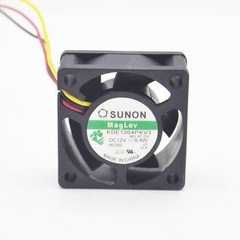 Sunon 4CM 4020 4*4*2CM 40mm x 20mm 12V 3 pin 12 Volt Cooling Fan KDE1204PKV3MS.AR.GN