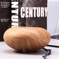 Wood Grain Aroma Essential Oil Diffuser Portable Air Humidifier For Home Aroma Diffuser With Ultra Low