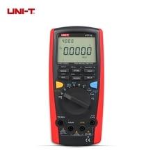 Buy online UNI-T UT71C LCD Intelligent Digital MultiMeters True RMS AC DC Volt Ampere Ohm Capacitance Temp Meter With Double Backlight