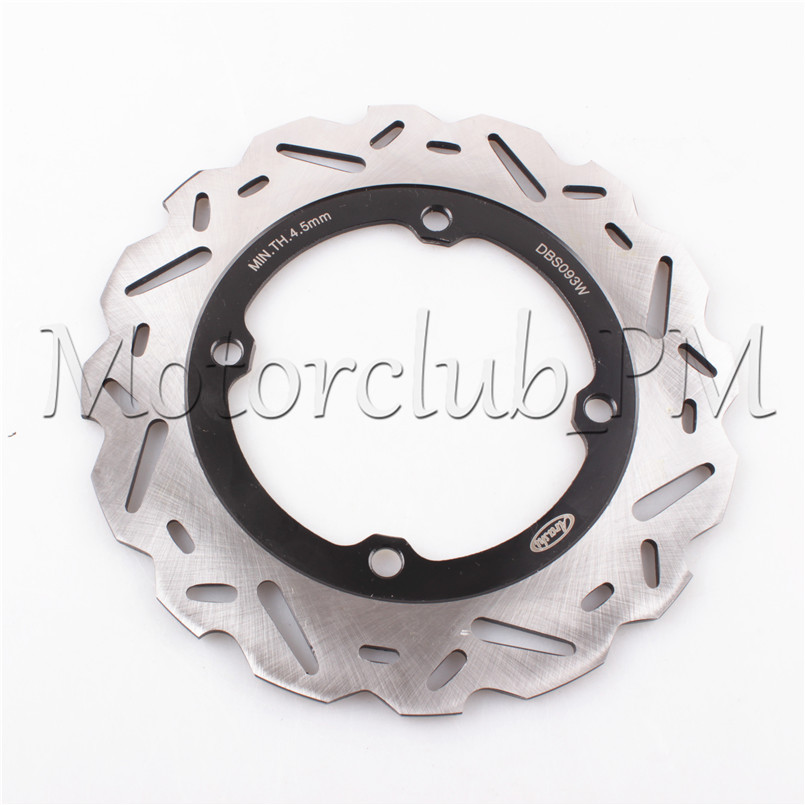 4 Holes Rear Brake Disc Rotor For Honda CBR 500R 2013-2015 14 CBR 650F 2014 2015 CB 500F 2013 2014 Black Motorcycle Bicycle Pads neo chrome rear lower control arm lca for honda civic 2001 2005 e2c