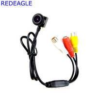 Échanger 700TVL CMOS Mini caméra de Surveillance de sécurité CCTV 140 degrés grand Angle Micro FPV caméras vidéo Audio sortie 205AV