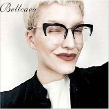 Bellacaca Optical Eyeglasses Frame Women Fashion Prescription Spectacles Glasses Frames Transparent Clear Lens Eyewear BC805