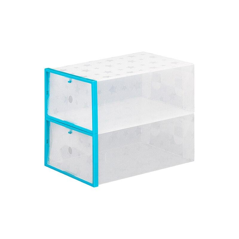 Storage box for shoes Elan Gallery 680030 Clothing & Wardrobe Storage wall bracket for storage