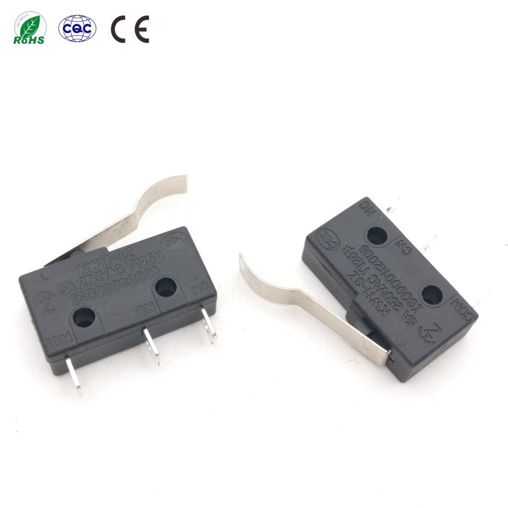 10PCS Limit Switch 3 Pin N//O N//C 5A 250VAC KW11-3Z Micro Switch Pop HP