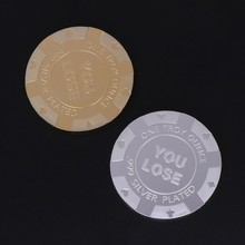 54cc13f6df Commemorative Coin Sexy Woman YOU LOSE Lady Charm Collection Arts Gifts  Souvenir(China)