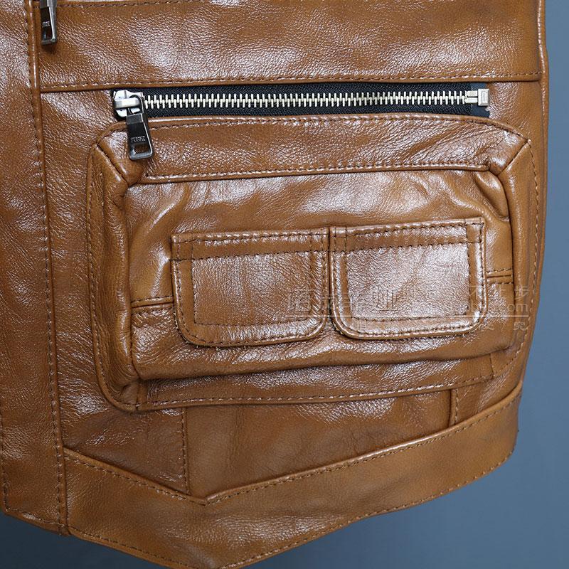 Tasche Mens Marrone Cuoio 16