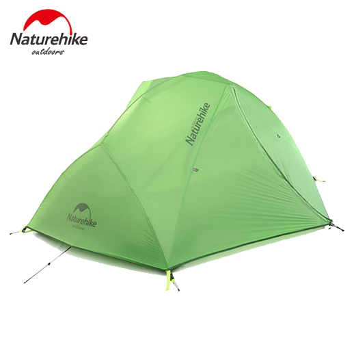 Naturehike Galaxy Lightweight Outdoor Camping Hiking Tent Waterproof Double Layer Travel Equiment NH15T012-T  for 2-person high quality outdoor 2 person camping tent double layer aluminum rod ultralight tent with snow skirt oneroad windsnow 2 plus