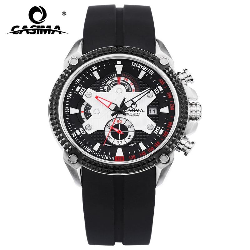 Luxury Brand watches men Sport Fashion Elegent table mens quartz watch silicone strap luminous waterproof 100m