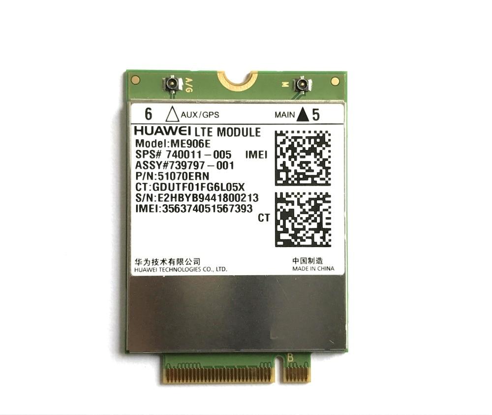 Unlocked ME906E+2PCS IPX4 Antenna NEW&Original FDD LTE 4G WCDMA GSM Module SPS# 740011-005 In Stock
