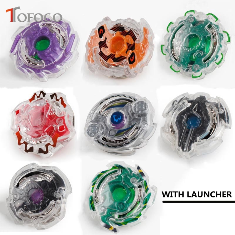 US $3 71 11% OFF|TOFOCO 10 Type 3060 Fusion Metal Beyblade Set With  Launcher Original Box Spinning Top Beyblade For Sale Kids Toys for Boys  Gift-in