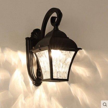 Nouveau Solaire Alimente Lanternes Murales Applique Murale Lampe