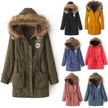 Женщины Зима Теплая С Длинным Рукавом Из Искусственного Меха С Капюшоном Тонкое Пальто Куртки Куртка Пиджаки