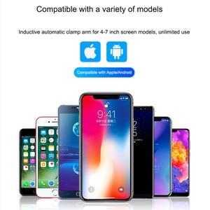 Image 5 - 10W Qi cargador inalámbrico de coche para Xiaomi mi X 2S mi 9 iPhone X Samsung S9 carga rápida sin cables coche sujeción automática soporte de teléfono