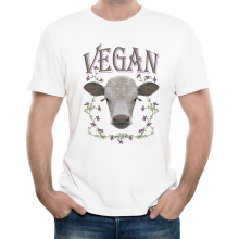 Men's Fashion Vegan Design T Shirt