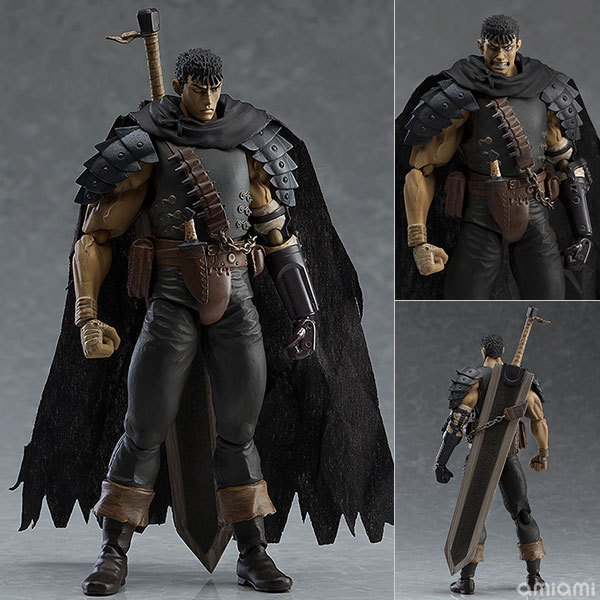 Game Figma 359 GUTS Black Swordsman Ver. Repaint Edition PVC Figures Model Toys