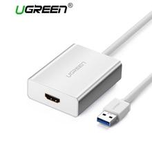 Ugreen USB HDMI VGA DVI Adattatore Esterno USB a HDMI Multi Display Adapter Maschio a Femmina Proiettore Convertitore del Connettore USB HDMI