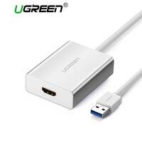 Ugreen USB HDMI VGA DVI Adapter External USB To HDMI Multi Display Adapter Male To Female