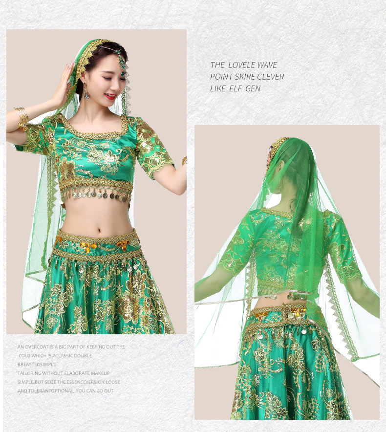 835a13bf6a5aa Detail Feedback Questions about NEW Women Belly Dance Wear Indian ...