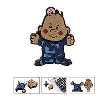 Flash drive cute cartoon boy pen 4GB 8GB 16GB 32GB 64GB 128GB memoria usb stick creative gift pendrive flash cle