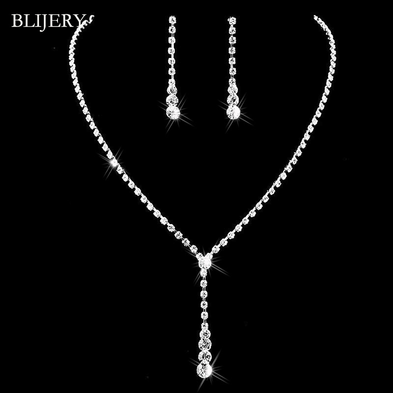 BLIJERY Silver Plated...