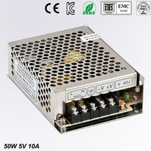 5V 10A MS-50-5 MINI led driver, mini switching power supply,min switch,mini size smps with overload protection