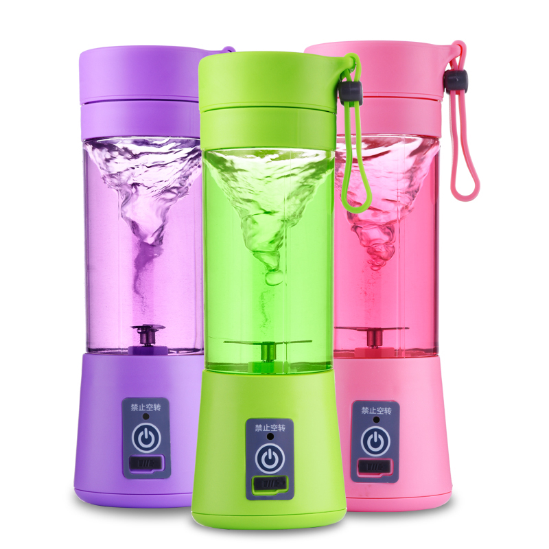 household  electric portable rechargeable multifunctional juicer mini  kitchen appliances bear 220 v hand held electric blender multifunctional household grinding meat mincing juicer machine