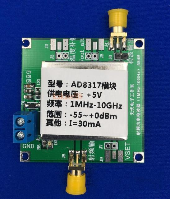 US $22 14 11% OFF|AD8317 1MHz to 10GHz RF Power Meter Detector Power  Detector for Amplifiers-in Power Meters from Tools on Aliexpress com |  Alibaba
