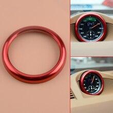 CITALL Red font b Car b font font b Interior b font Dashboard Center Clock Compass