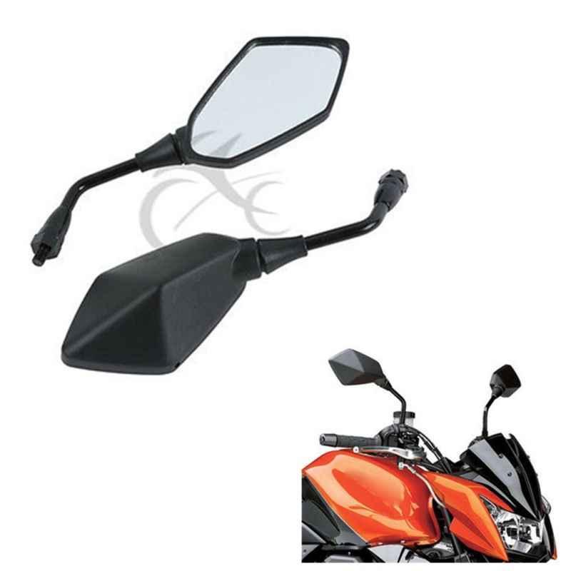Rearview Side Mirrors For Kawasaki Z750 2004-2011 Z1000 03-15 ER6B ER-6N 06-10 ZRX1200 01-08 KLE 650 Versys 07-15 KLE400 KLE500