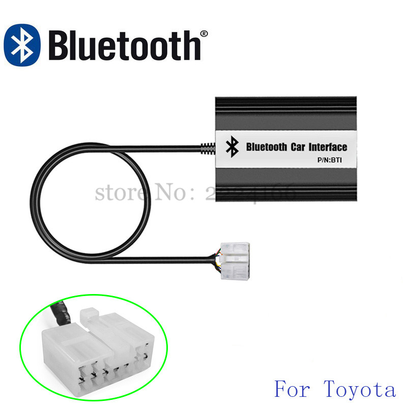 Image 3 - SITAIEL Car Bluetooth A2DP MP3 Music Player Adapter for Toyota Lexus Scion AUX USB Charging Handsfree Bluetooth Car Styling-in Car MP3 Players from Automobiles & Motorcycles
