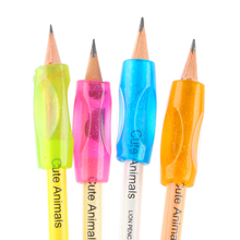 Thumb Cover Pencil Holding Postures Grip Practise Device For Correcting Pen Children Students Stationery