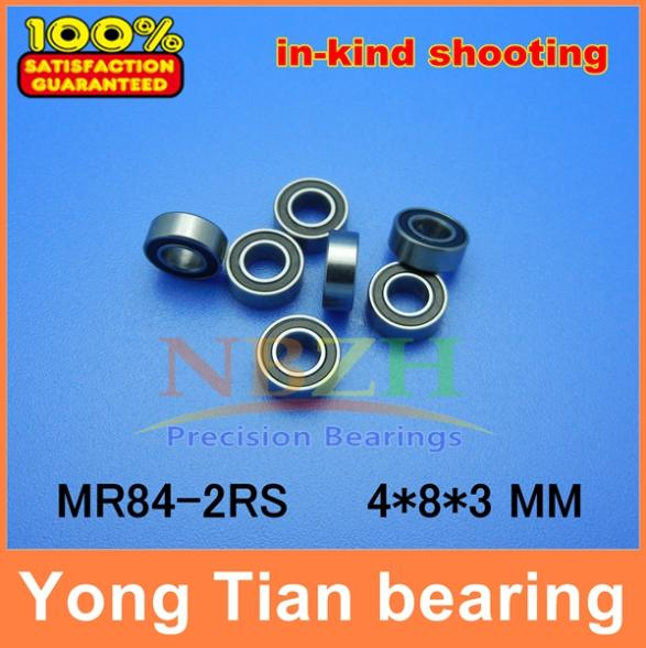 Free shipping 50 piece/lot miniature bearing WML4008-2RSX, L-840-2RS,MR84-2RS,WBC4-8-2RSA 4X8X3mm Shigh precision free shipping 50pcs lot miniature bearing 688 688 2rs 688 rs l1680 8x16x5 mm high precise bearing usded for toy machine