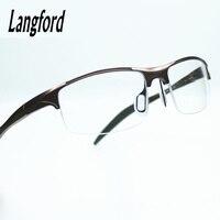 Cool Mens Optical Glasses Frames Stylish Spectacle Frames Designs Fashionable Styled Streamline Eyeglasses Mono Spring Hinge