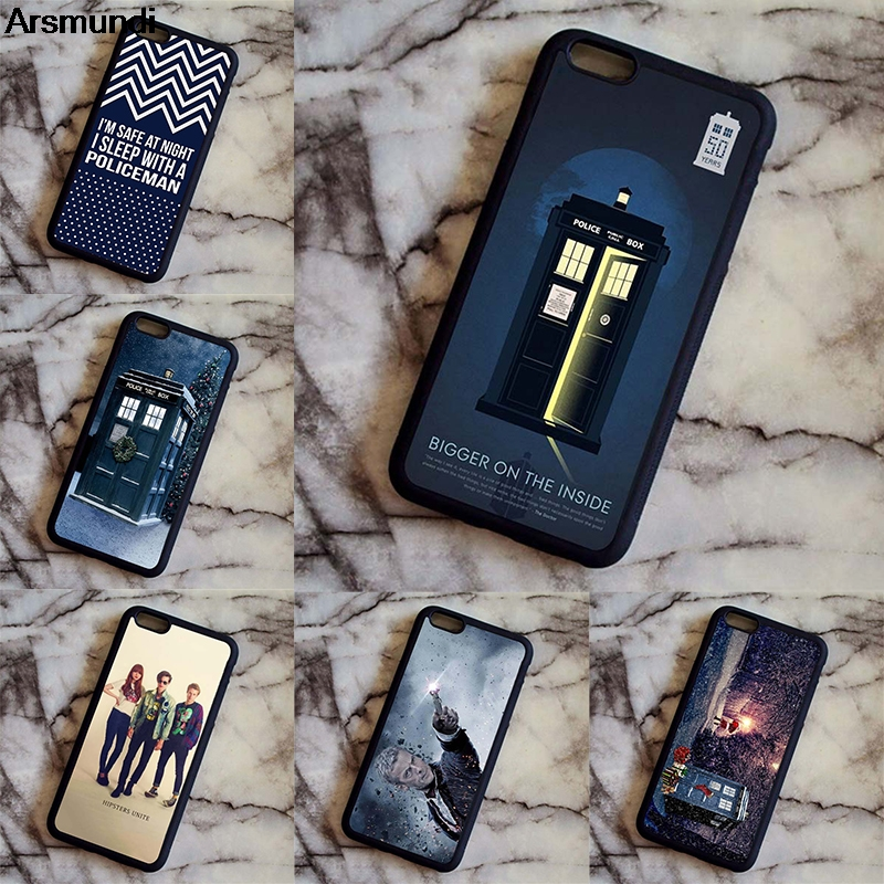 Fitted Cases Imported From Abroad Arsmundi Doctor Who Tardis Bigger Phone Cases For Iphone 4s Se 5s 6s 7 8 Plus X Xr Xs Max Case Soft Tpu Rubber Silicone Phone Bags & Cases