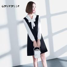 Large Size Women 2018 Spring Belly Cover Shirt Fashion Age Western Style Dress Women Plus Size Dress Female Fashion Dress AL022