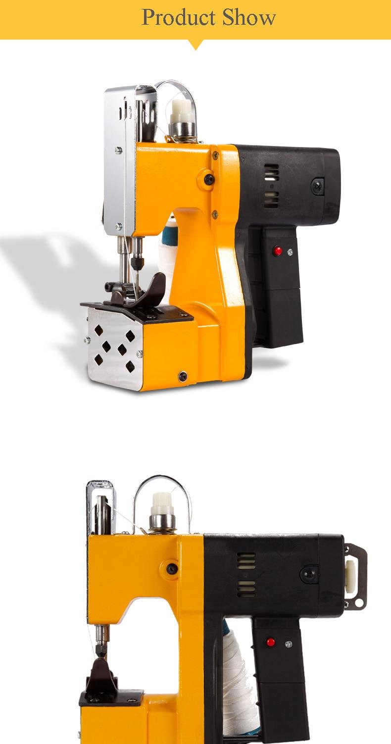 Sacos elétricos portáteis máquina de costura saco