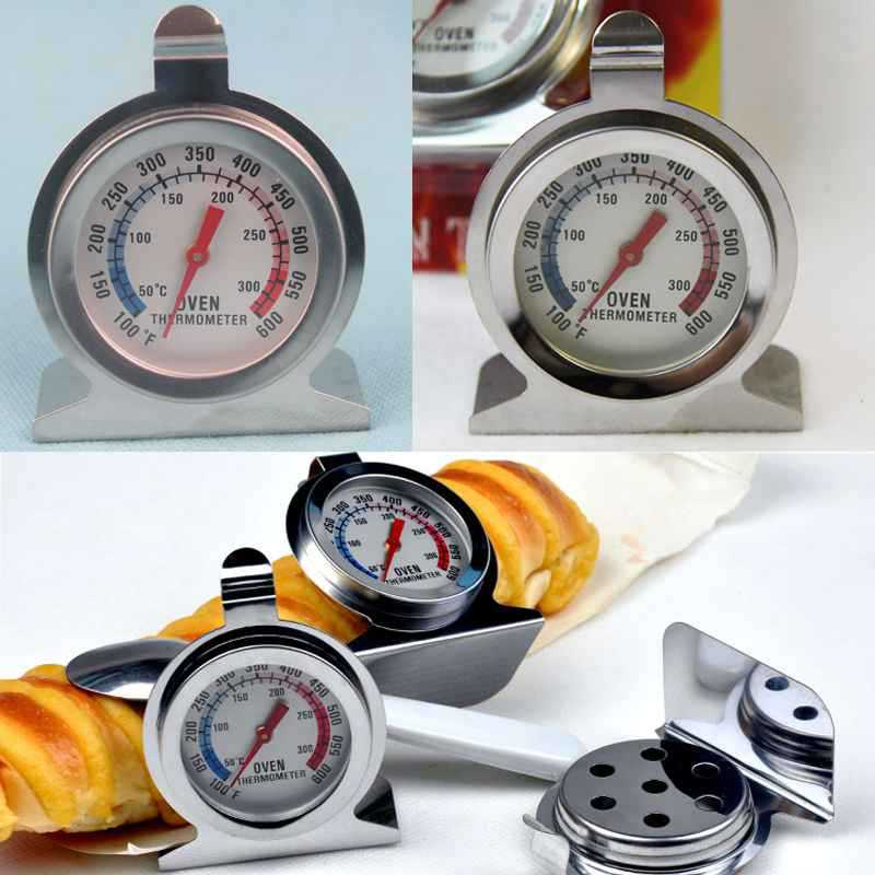 1PC Household Thermometers Food Meat Temperature Stand Up Dial Stainless Steel Oven Ther ...