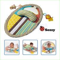 1 stks Baby Speelgoed Tapete Infantil Vroege Onderwijs Spel Deken Baby Spelen Matten Met Spiegel Muzikaal Speelgoed 0-12 maanden