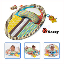 1pcs Baby Toy Tapete Infantil Early Education Game Blanket Baby Play Mats With Mirror Musical Toys 0-12 Months(China)
