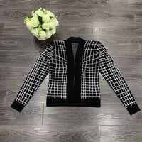 YBH06438 Модные женские свитера 2019 подиумная Роскошная известная марка европейский дизайн вечерние женская одежда
